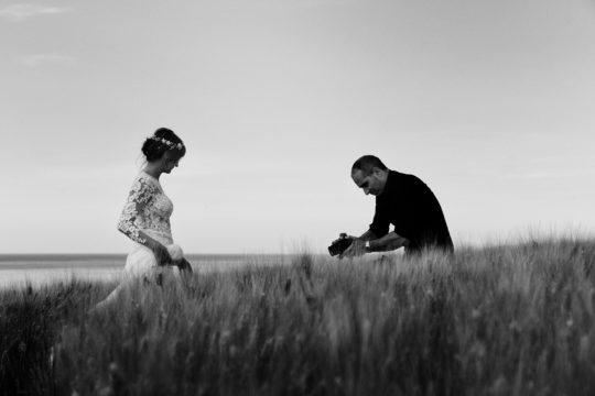 videomaker di matrimonio senigallia riprende la sposa
