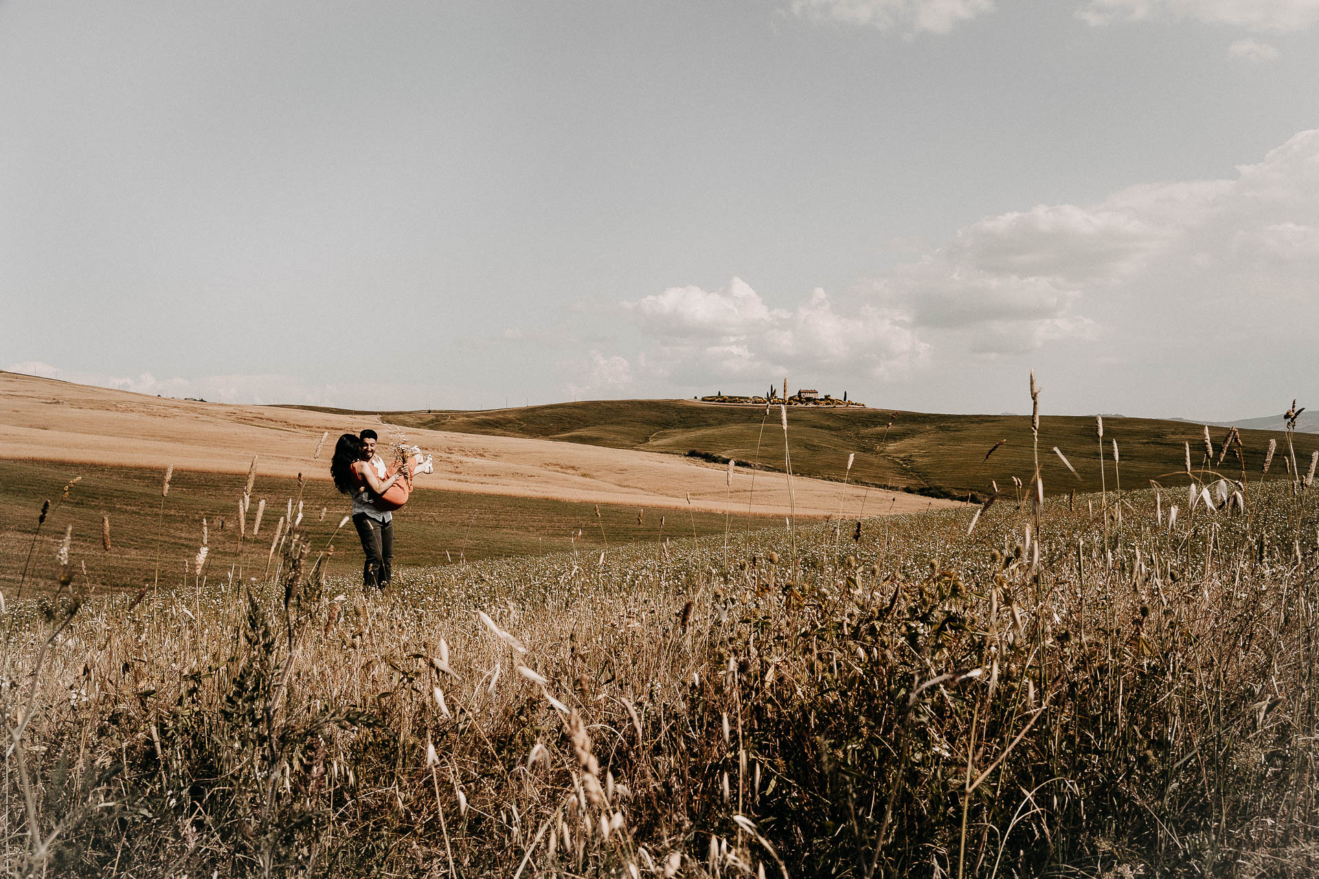 Servizio fotografico di engagement elopement