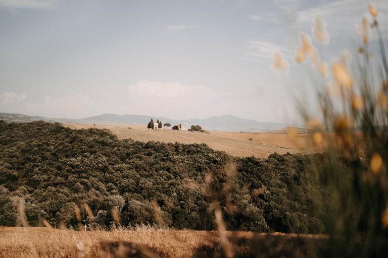 val d'orcia, video di matrimonio