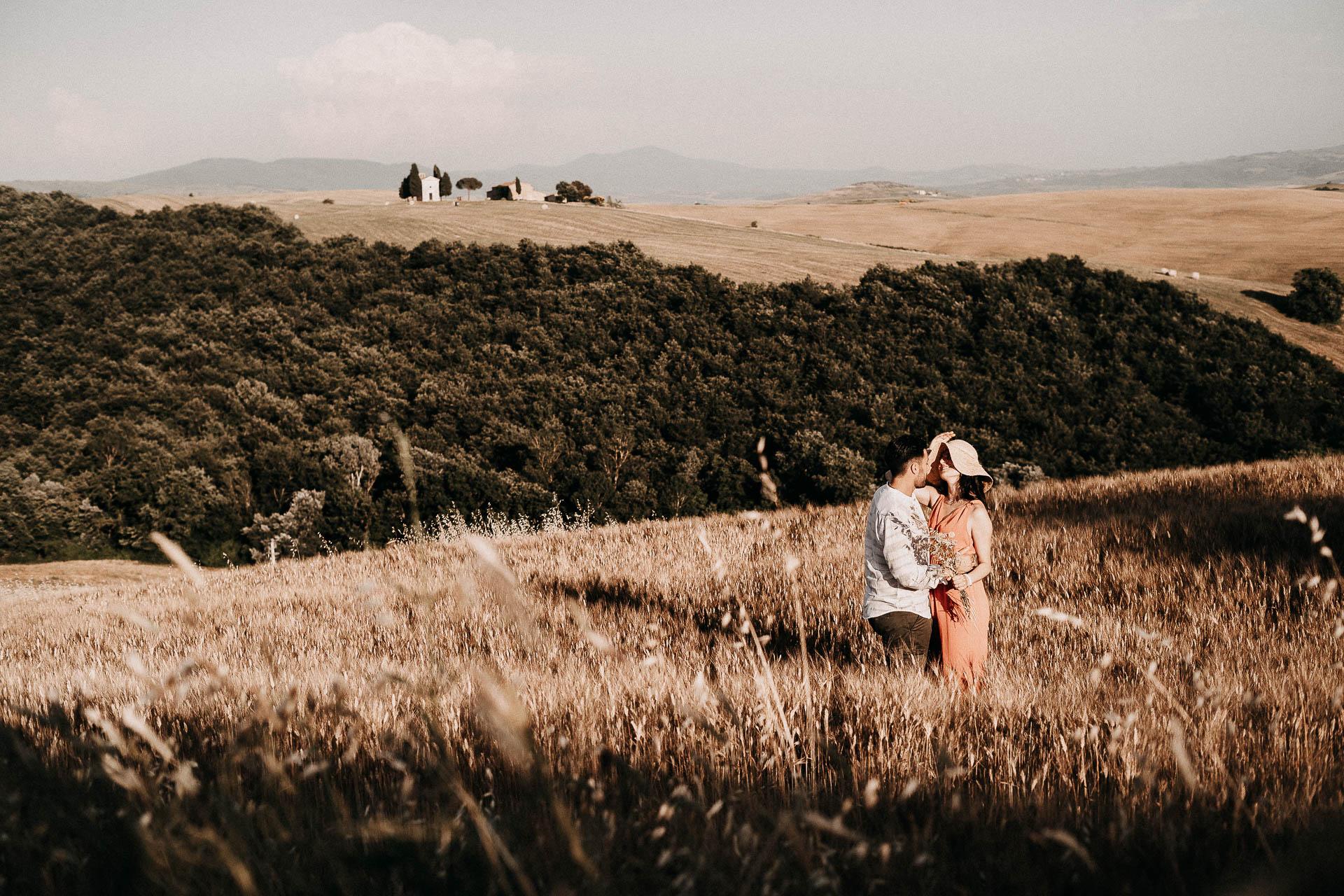sposarsi in val d'orcia in toscana