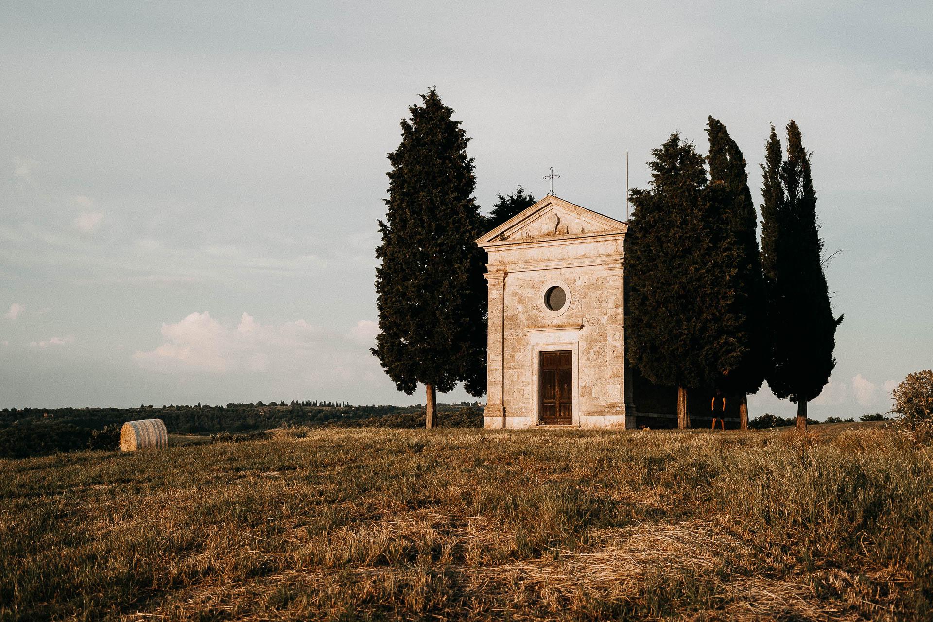 Val d'orcia luoghi per matrimoni all'aperto